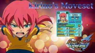 Kirino's Moveset in Inazuma Eleven Go Strikers 2013