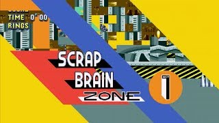Sonic Mania - Scrap Brain Act 1 WIP V0.1 [Issa mess...]