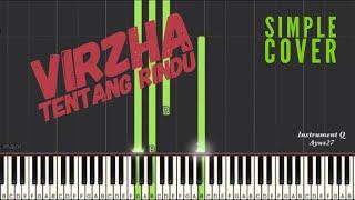 Rindu - virzha ( simple piano )