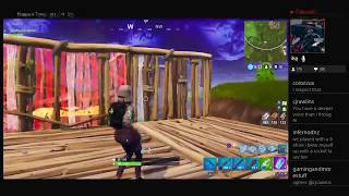 Fortnite Fun Playing With Subscribers 1st Twitch Stream Archive (2 Wins) [ENG] (PS4)