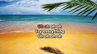 "Shakira - Try Everything Karaoke from ""Zootopia"" (Remake)"