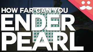 How Far Can You Ender Pearl in Minecraft?