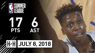 Frank Ntilikina Full Highlights vs Jazz (2018.07.08) NBA Summer League - 17 Pts, 6 Ast