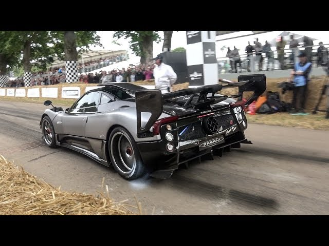 1 of 1 Pagani Zonda 760 Oliver CRAZY V12 sounds on track!!