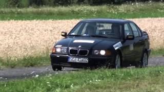 Rally OS Sprint Zamarski 2013 - Krystian Kacprzak / Mariusz Cieślar - BMW E36
