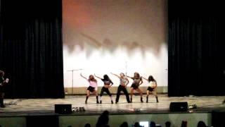 4MINUTE - 미쳐(Crazy) cover by Girls shine Peru  en el Aniversario de 321Asia