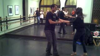 Salsa y Control Intermediate Class w/Johnny and Felicita