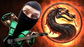 Mortal Kombat - reptile theme cover