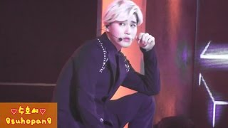 140724 M!countdown 10th Anniversary EXO-K Overdose SUHO 수호 focus 【fancam】