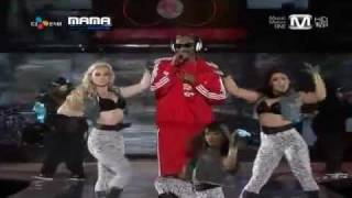 2011 MAMA - Snoop Doggy Dogg ~ Drop It Like It's Hot