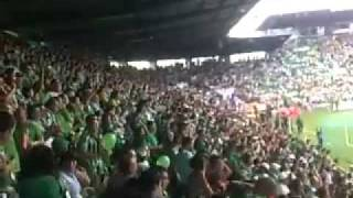 "Betis fans going crazy to "" Iza Oblaka"" from LEPI"