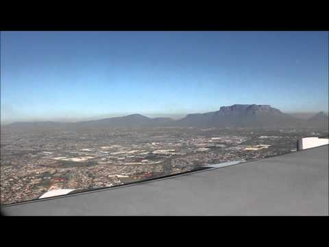 Landing in Capetown /South Africa/ 05.2012/ HD