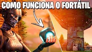 Fortnite - COMO FUNCIONA O NOVO ITEM FORTÁTIL