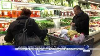 Miles de inmigrantes se verían afectados por nueva ley sobre programa de estampillas de comida