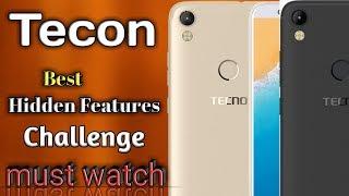 Tecon Camon i best hidden Features . challenge , must watch ! width=