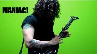 Charlie Parra - Maniac (Michael Sembello) guitar solo