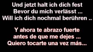 Oomph! Brich Aus - Lyrics Alemán/Español