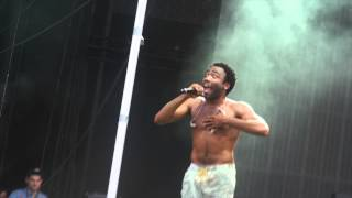 Freestyle (Encore) Move That Dope  - Childish Gambino Lollapalooza 2014