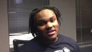 Tee Grizzley At V-103 With Greg Street