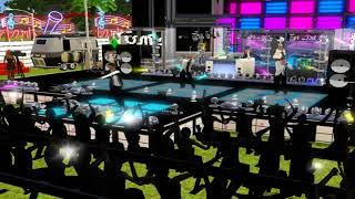 """SIMS 3 SHOWTIME NIGHTLIFE CLUB WITH LIVE BAND RICK ASHLEY"""" NEVER GONNA GIVE YOU UP"""""""