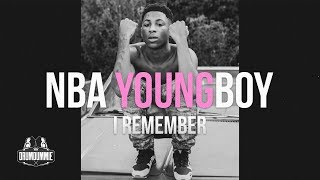 NBA Youngboy Type Beat 2017 NEW INSTRUMENTAL - I Remember [Prod. By: @kingdrumdummie]
