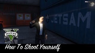 GTA 5 Tips n Tricks 'How To Kill Yourself With A Gun' in GTA Online