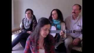 """""""Maybe"""" Alison Krauss cover by Mia Rose Lynne and family"""