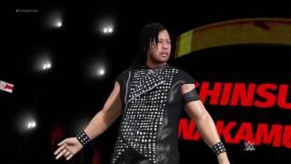 WWE 2K17 II Skinsuke Nakamura 'Shadow' Attire