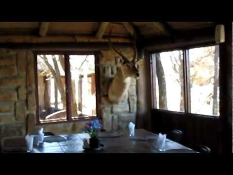 South Africa 2010 – Game Reserve eating area