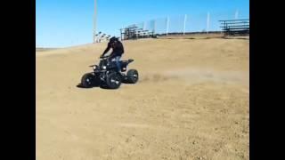 Fetty Wap riding his quad!