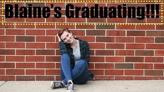 Blaine Graduation Announcement | Neverland