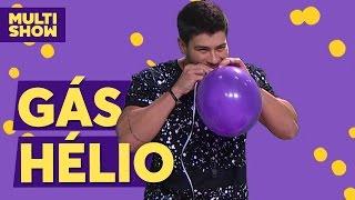 Arthur Aguiar com voz de gás hélio | TVZ ao Vivo | Multishow