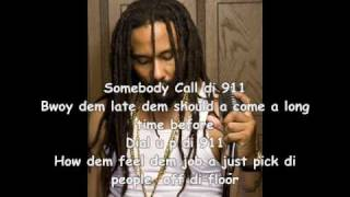 2010 Kymani Marley   ♥  Richie Campbell - 911 [Reggae][Lyrics]