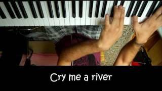 Justin Timberlake - Cry me a River Karaoke / Piano Cover in HD by Sam Masghati