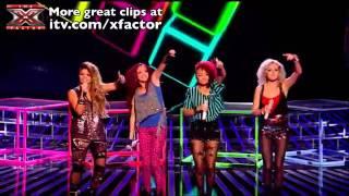 Little Mix - Tik Tok & Push It - The X Factor 2011 [Live Show 3]