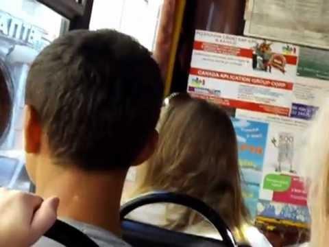 Lviv Ukraine bus journey August 2011