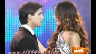 Sueña Conmigo - Clara y Luca, el beso y se hacen novios.