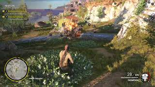 Sniper Elite 4 - Easy leveling [multikill, explosion, 30m distance, high ground...]