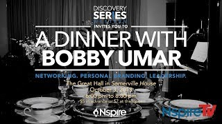 What is your path? - Join Bobby Umar for Dinner - DS UWO Oct. 3rd