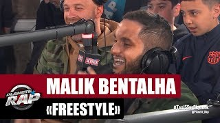 Malik Bentalha en freestyle lors de son passage chez Skyrock