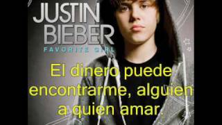Justin Bieber - Somebody To Love (en Español)
