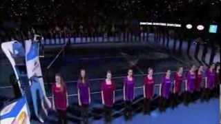 Australian Girls Choir -You raise me up -  live@Australian Open 2012