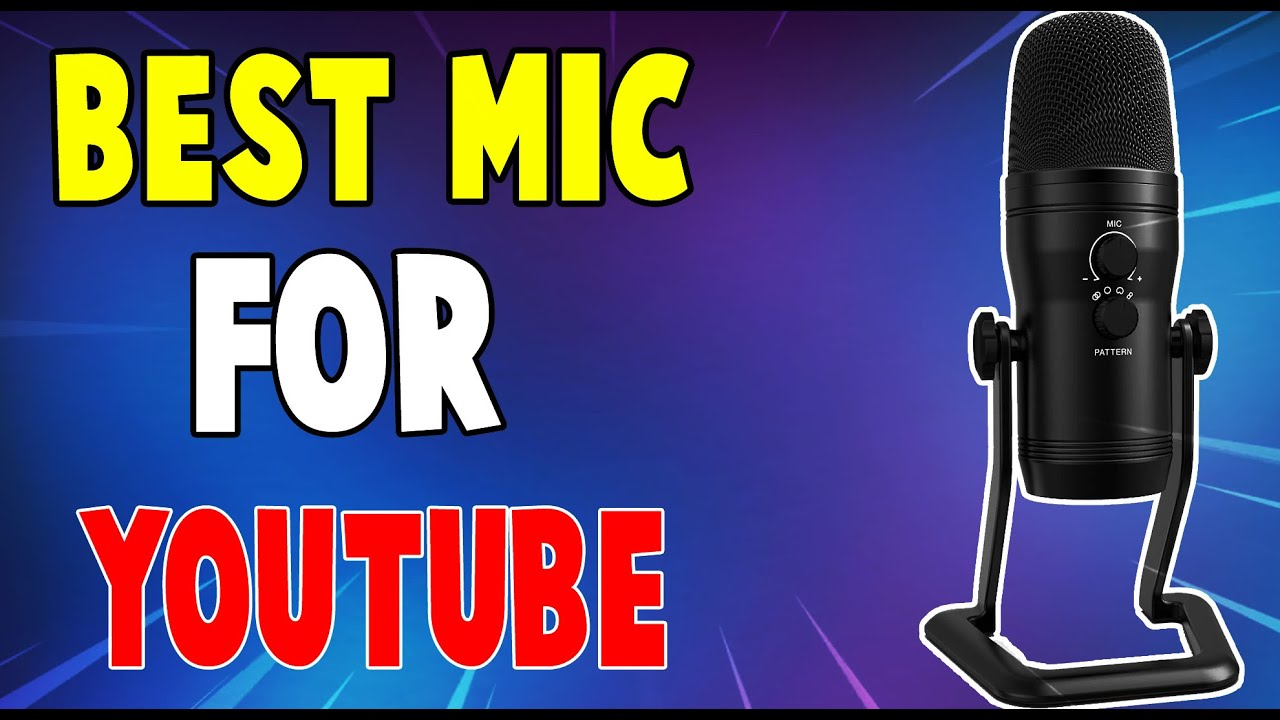 Godthegamer - Best USB Microphone Under $100 for Live-Streaming and Podcasting (FIFine USB Mic Review)