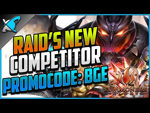 RAID'S NEW COMPETITOR | Summoners Glory: Eternal Fire Launch | FREE LOOT with Promocode: BGE