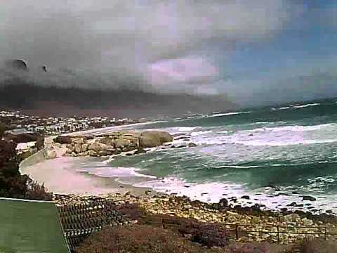 Timelapse Video – Glen Beach & Camps Bay – 26/08/2010