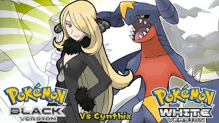Pokemon Black/White - Battle! Champion Cynthia Music (HQ)