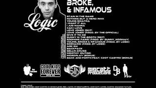 Logic - Back And Forth (Feat. C Dot Castro) (Young, Broke & Infamous Mixtape) [HD/Download]