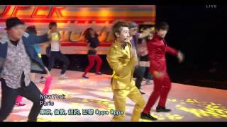 [LIVE 繁中字] 111218 Super Junior (Donghae & Eunhyuk) - Oppa Oppa @ ComeBack Stage
