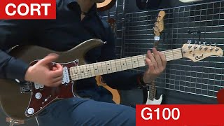 Cort G100. Cheap Lightweight Electric Guitar
