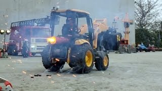 BRUDER Toy TRACTORS for Children JCB MIDI Loader ROCKET Motor Test Run FATAL!
